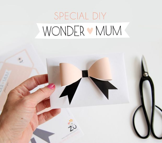 diy wonder mum silhouette portrait fete des meres. Black Bedroom Furniture Sets. Home Design Ideas