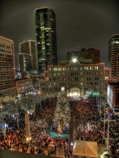 New Year's Eve in Sundance Square 2014 | Fort, Fort worth