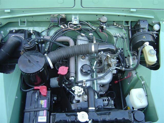 Series Engine Compartment