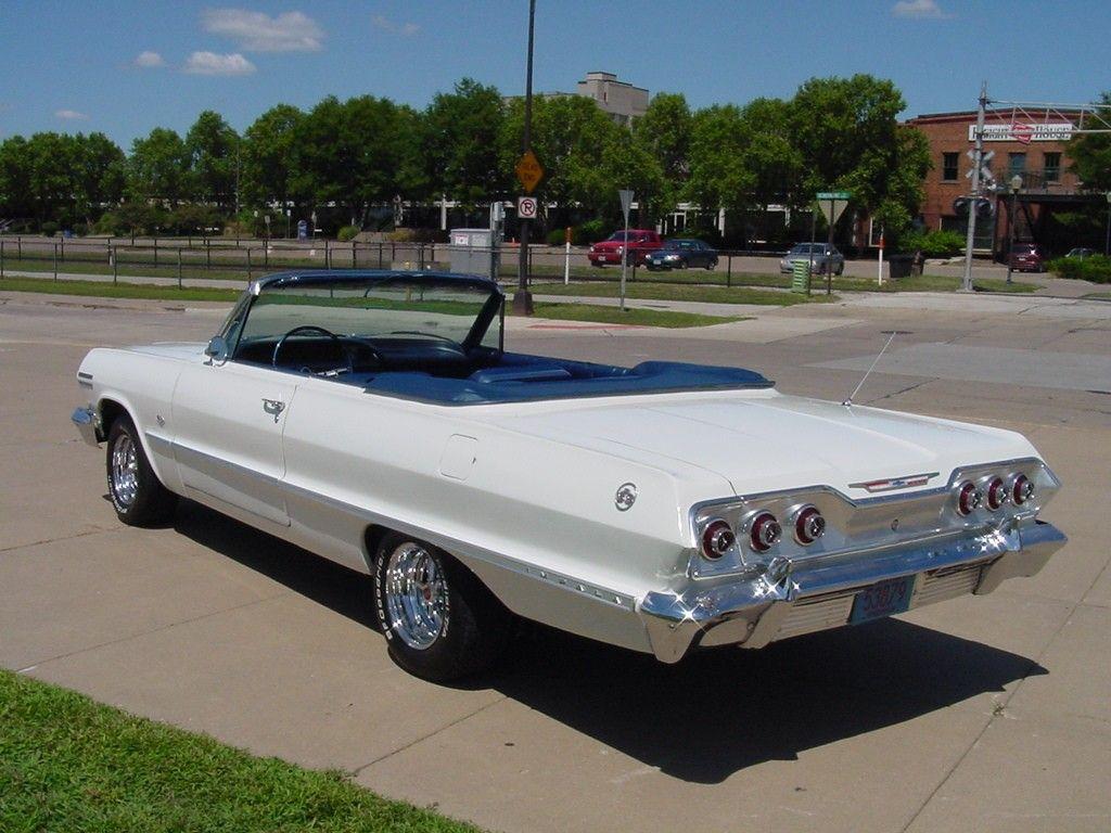 1963 Impala Convertible For Sale 1963 Chevrolet Impala Convertible White For Sale In United States Chevrolet Impala Car Auctions Chevrolet