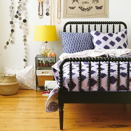 Kids Beds: Black Spiral Spindle Bed In Beds