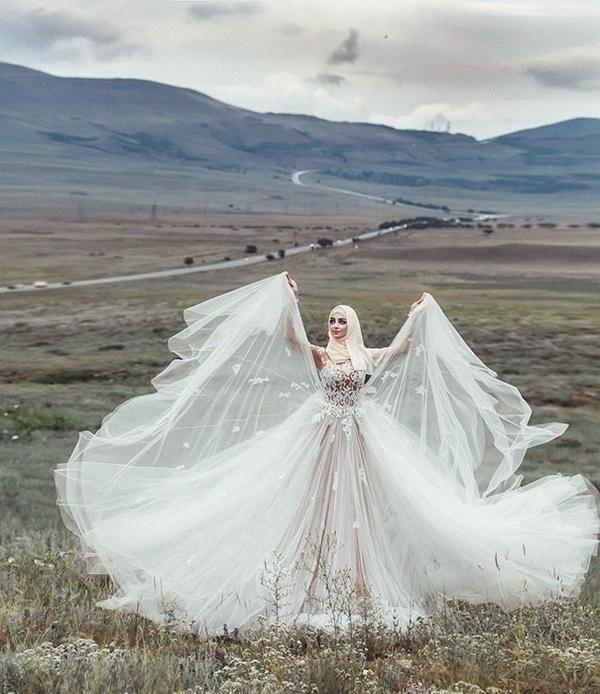 60 Stunning Islamic Hijab Wedding Dresses Photovide