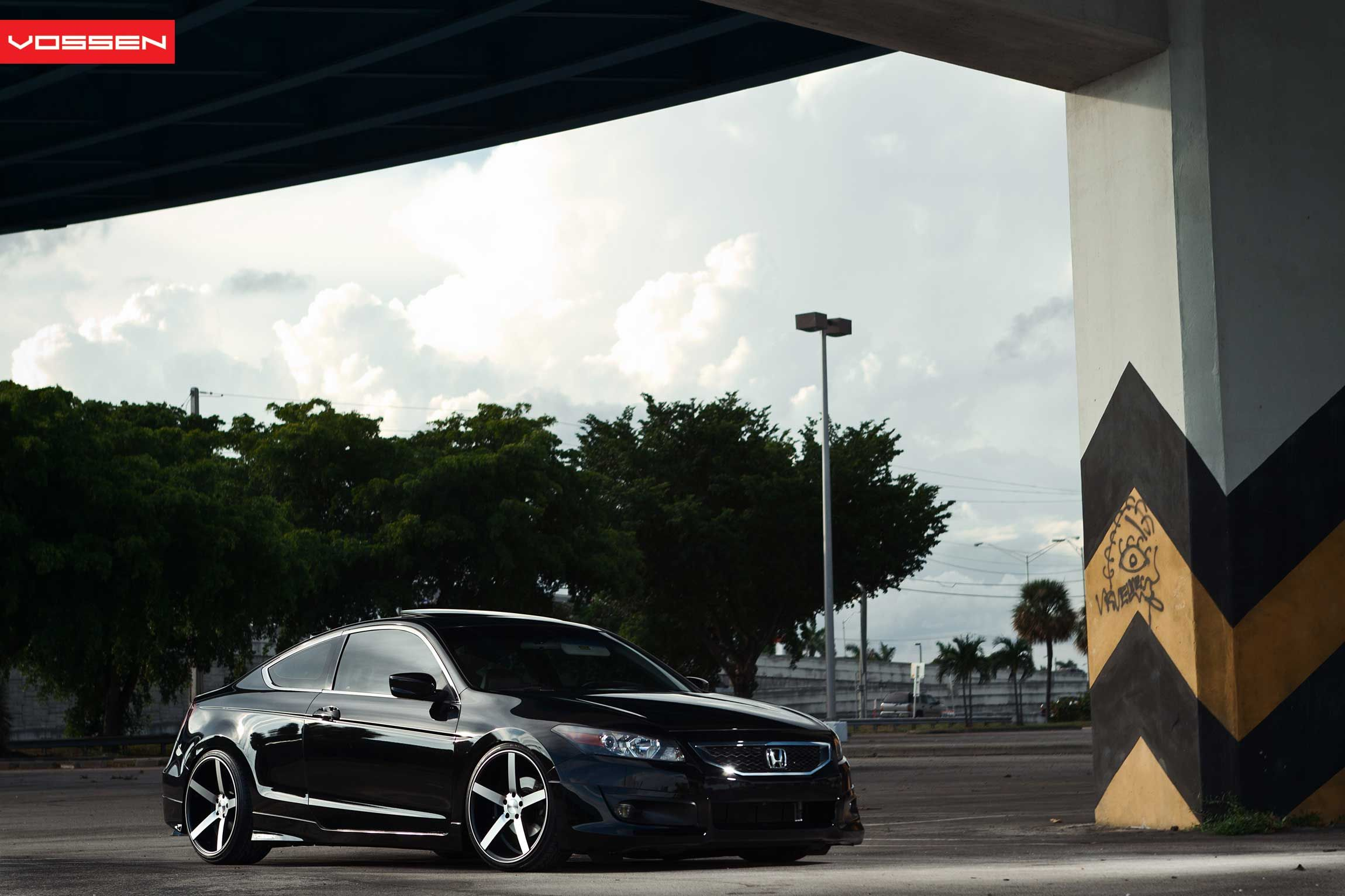honda accord coupe on vossen vvscv3 wheels and full body kit will be done by the end of the year  [ 2300 x 1533 Pixel ]