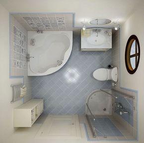 Agencement salle de bain de 2 à 5 m ² - comment maîtriser le petit ...