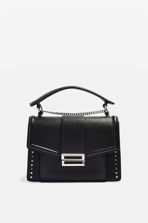 Womens Cassie Flap Shoulder Bag - Black 87ba27cb86c3c