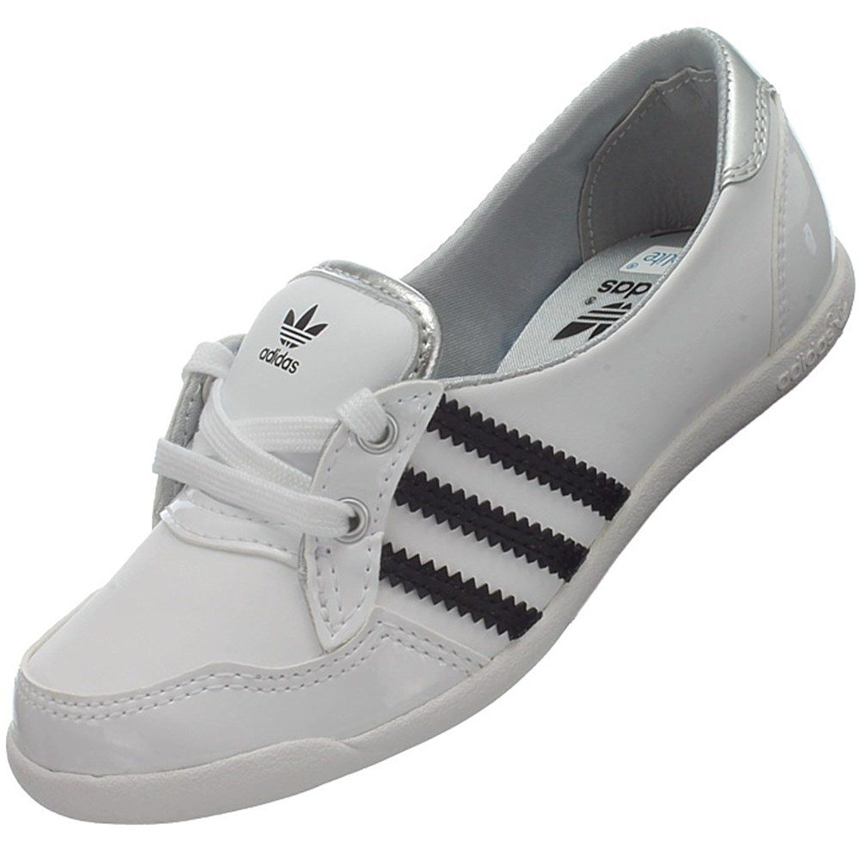Adidas Forum Slipper K G96047 Mädchen Ballerinas / Mädchenschuhe / Slipper Weiß: Amazon.de: Schuhe & Handtaschen
