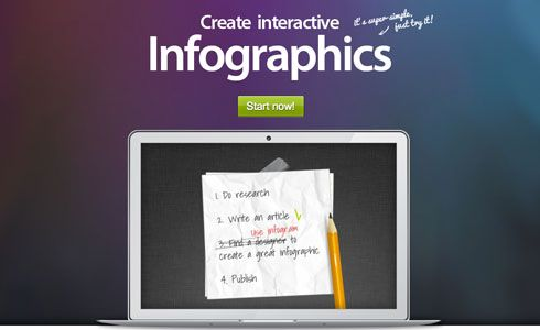 create infographics and charts with infogr.am