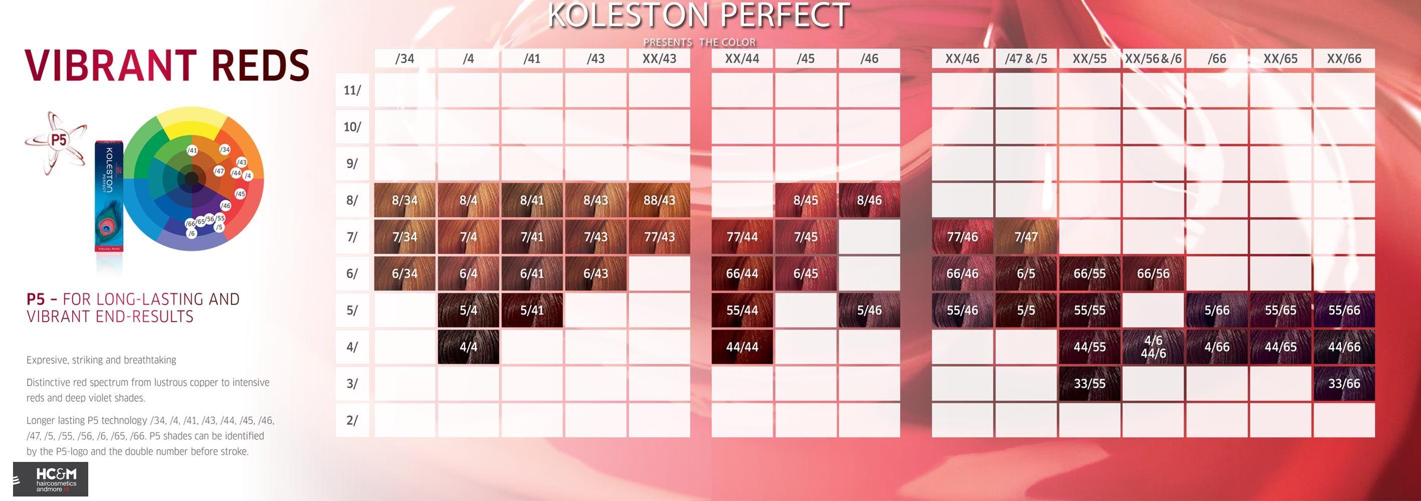Wella Professionals Koleston Perfect Presents The Color Vibrant