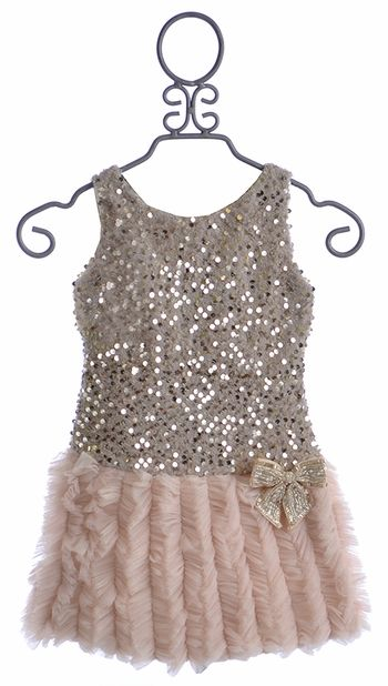 fdcd1157 Le Pink Girls Sequin Party Dress Rose (5 & 6X) | KIDS' STUFF | Girls ...