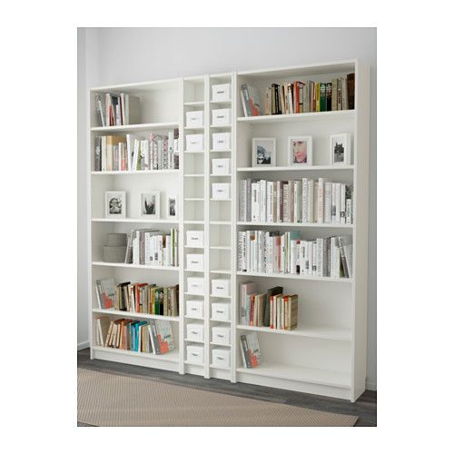 billy gnedby bookcase white. Black Bedroom Furniture Sets. Home Design Ideas