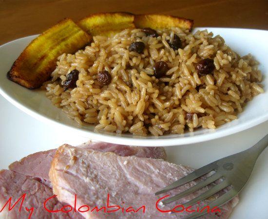 Arroz con Coco-Titote Colombia, cocina, receta, recipe ...