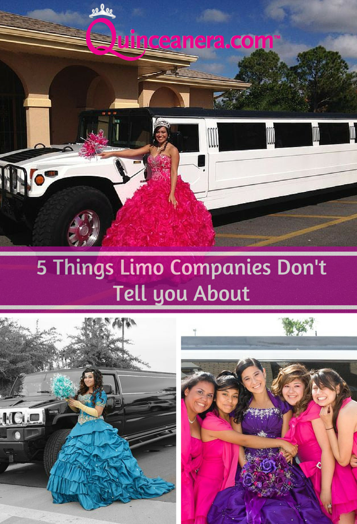 5 Things Limo Companies Don T Tell You About Quinceanera Quinceanera Traditions Quinceanera Dresses Quinceanera