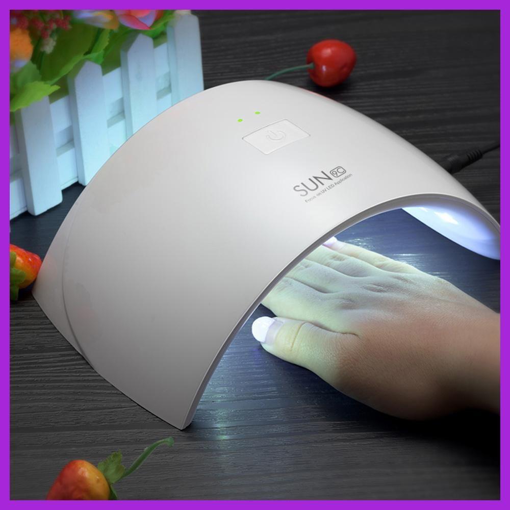 UVLED Lamp Nail 24W UV Lamp Nail Gel Polish Machine SUN9C SUN9X ...