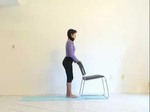chair yoga sun salutation  health  wellness