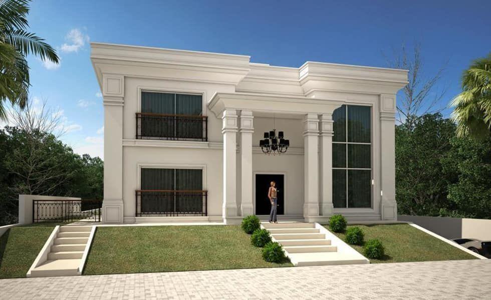 Fotos de casas modernas casa neoclassica moderna villas - Interiores casas modernas ...