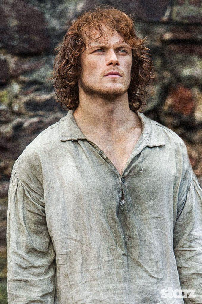 Jamie Fraser Waiting For His Turn To Hang Wentworth Prison Outlander Starz Jamie Fraser Outlander Outlander