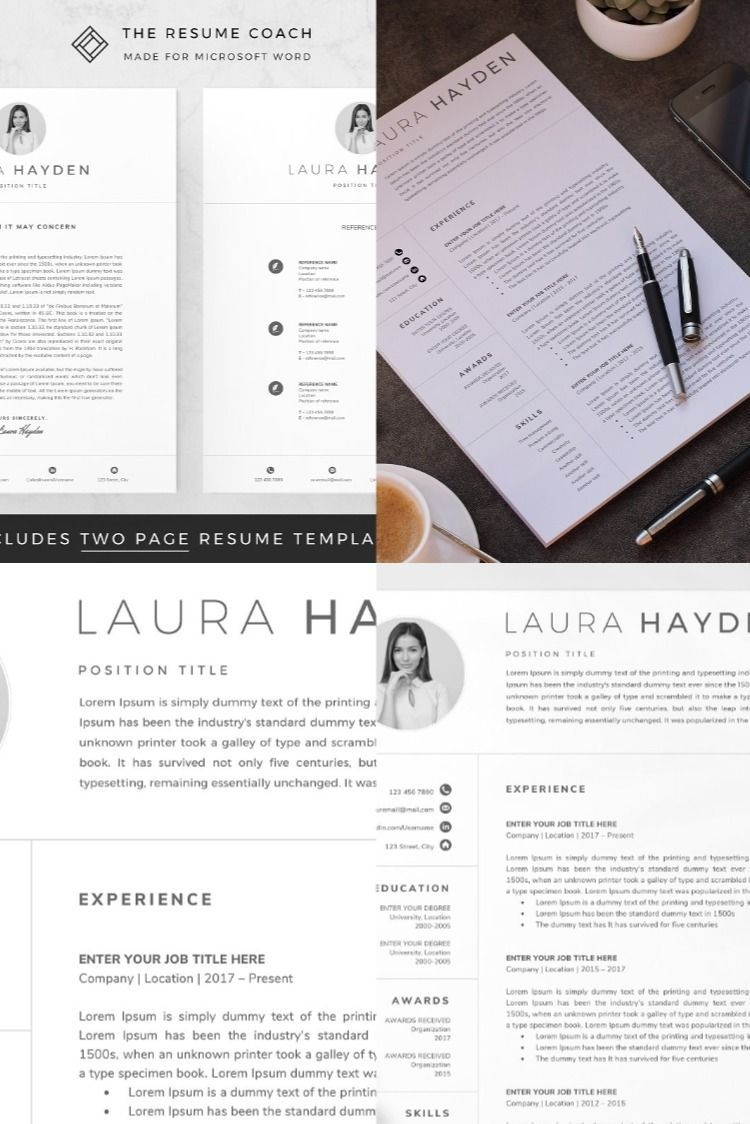 Pin on Resume Design Creative