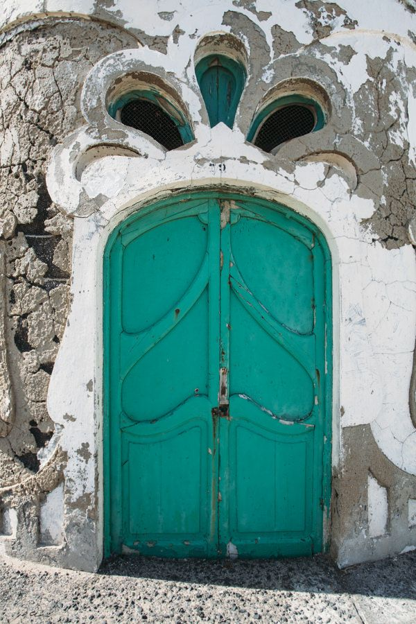Door. Lanzarote, Canary Islands, Spain