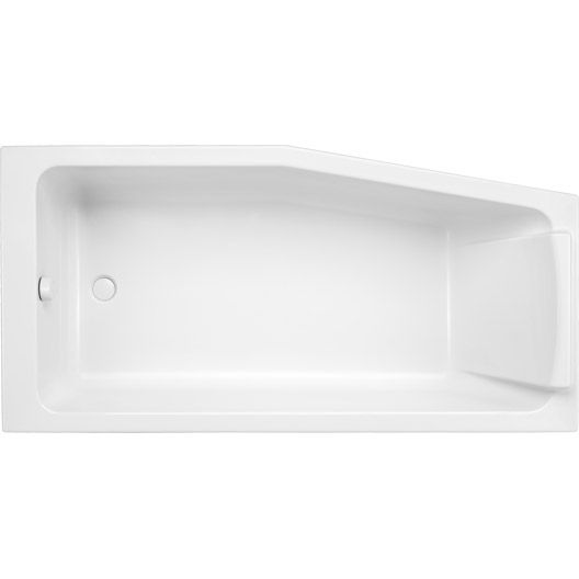 Baignoire sofa asym trique jacob delafon 160x85 cm robinetterie gauche 310e salle de bain - Robinetterie jacob delafon salle de bain ...