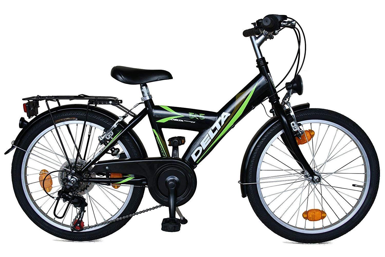 Kinderfahrrad 20 Zoll Delta Fahrrad 6 Gang Shimano Schaltung Stvzo