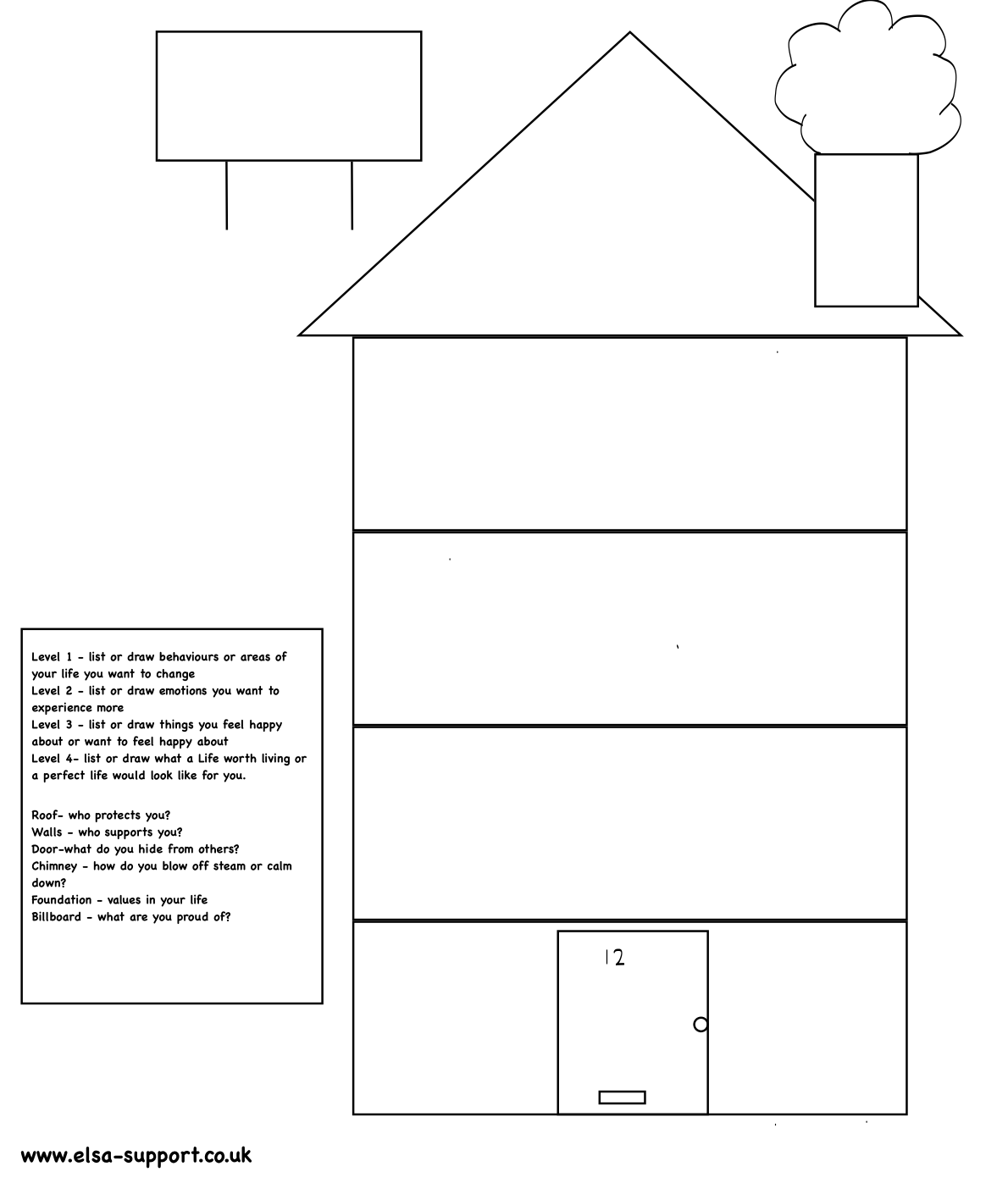Dbt House Templates Printable
