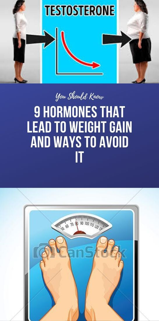 9 Hormones That Lead To Weight Gain And Ways To Avoid It