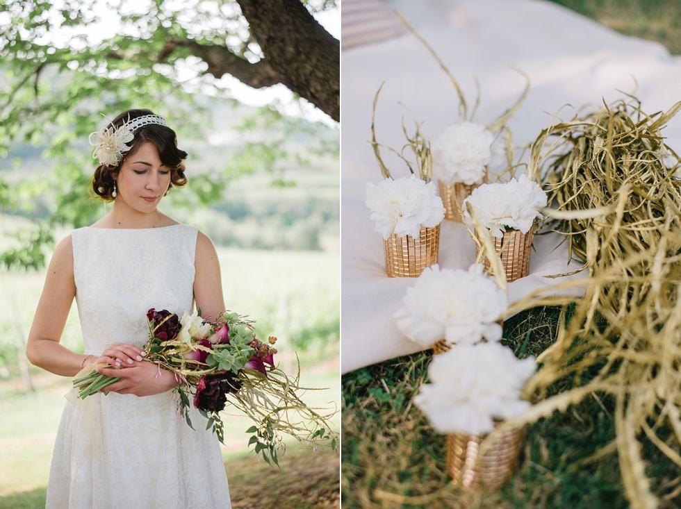 Downton Abbey wedding styled shoot