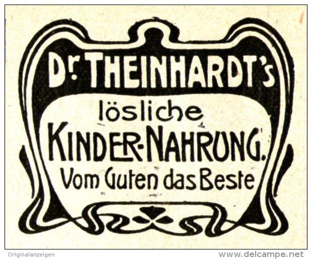 Original-Werbung/Anzeige 1905 - DR. THEINHARDT'S KINDERNAHRUNG - ca. 45 x 40 mm