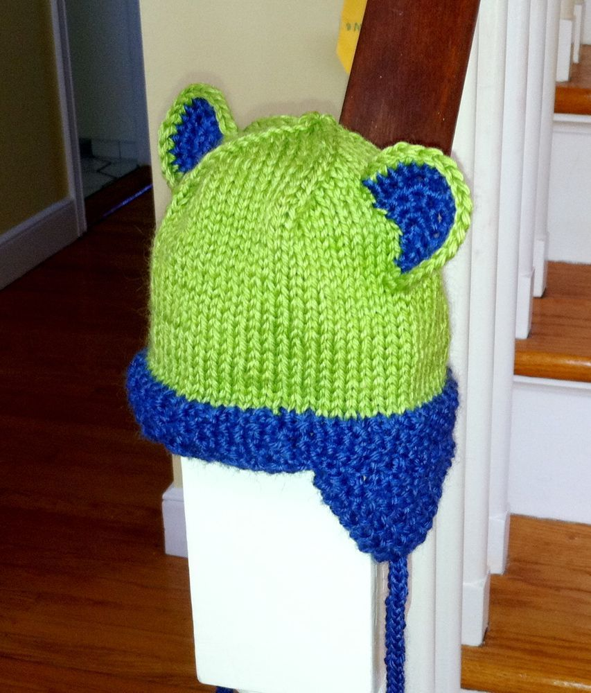 Cuddly Critter Ear Flap hat | Hat pattern, Ear flap hats ...