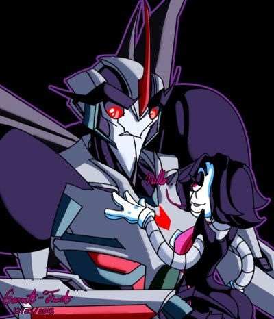 Mettaton and Starscream  Finally there's a TFP and UNDERTALE