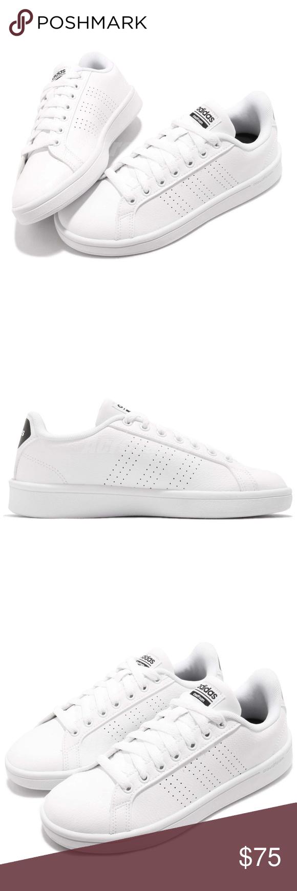 adidas neo di vantaggio cl bianco nero e scarpe da ginnastica boutique pinterest