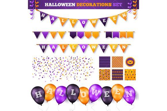 Halloween Decor Set  @creativework247