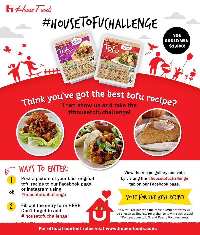 House foods tofu challenge recipe contest vote september 21 house foods tofu challenge recipe contest vote september 21 november 11 2015 forumfinder Choice Image