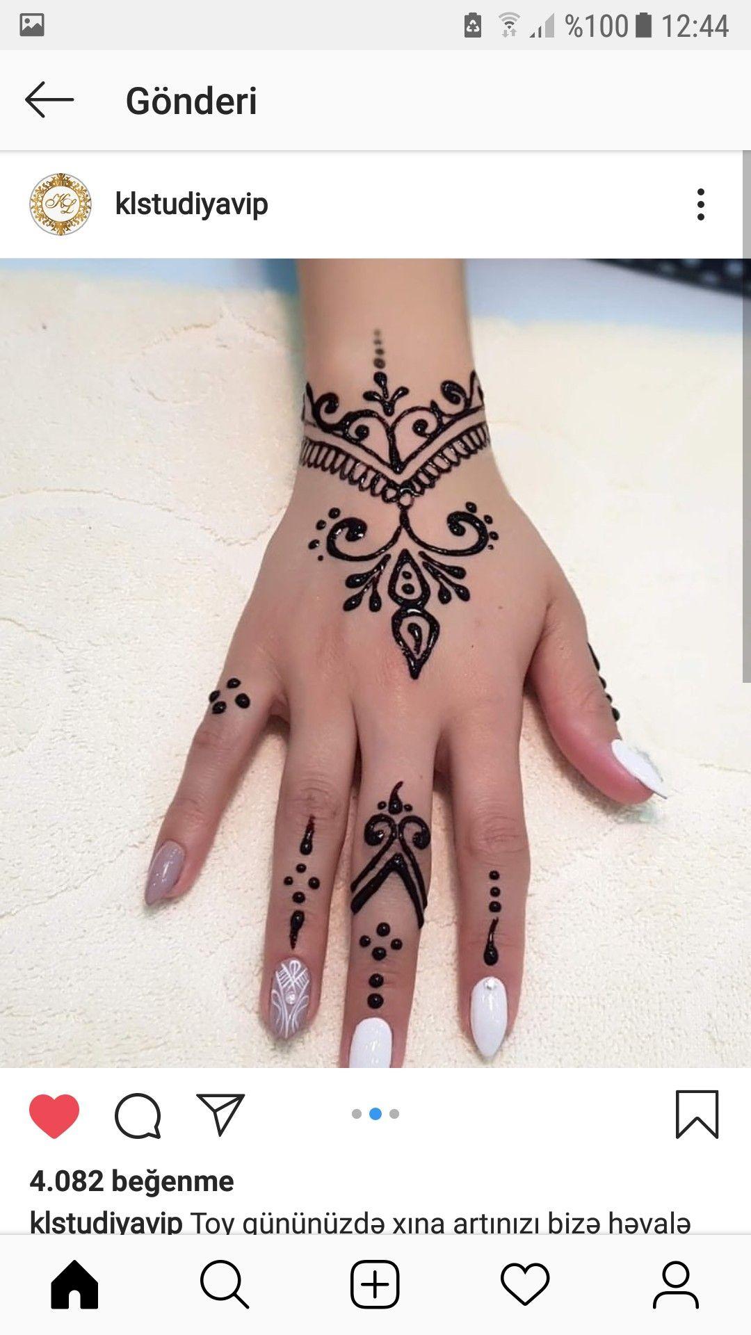 Pin By Paravva Yavagal On Guzelik Henna Tattoo Designs Simple Simple Henna Tattoo Henna Tattoo Hand