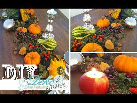 DIY: Opulente Herbst Deko für den Tisch | Deko Kitchen