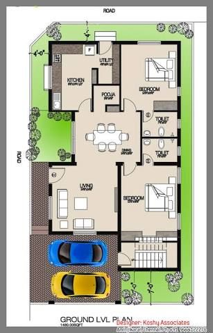 Image Result For House Plans India 2bhk House Plan Small House Plans India Indian House Plans