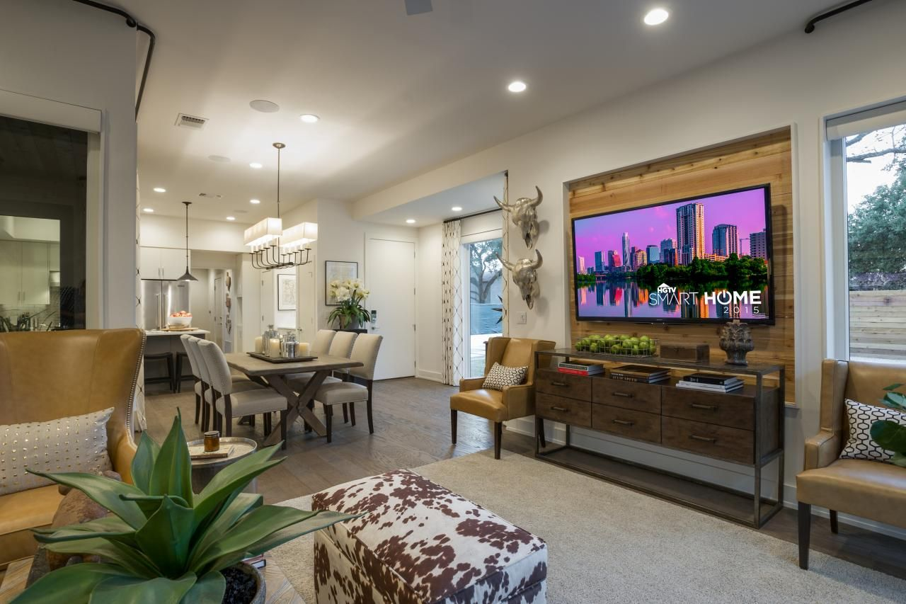 Pictures Of The Hgtv Smart Home 2015 Living Room Condo Living
