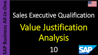 SAP - Course Free Online: 10 - Value Justification Analysis