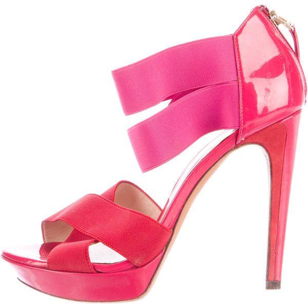 Pre-owned - Patent leather sandals Fendi BqHHmiJ