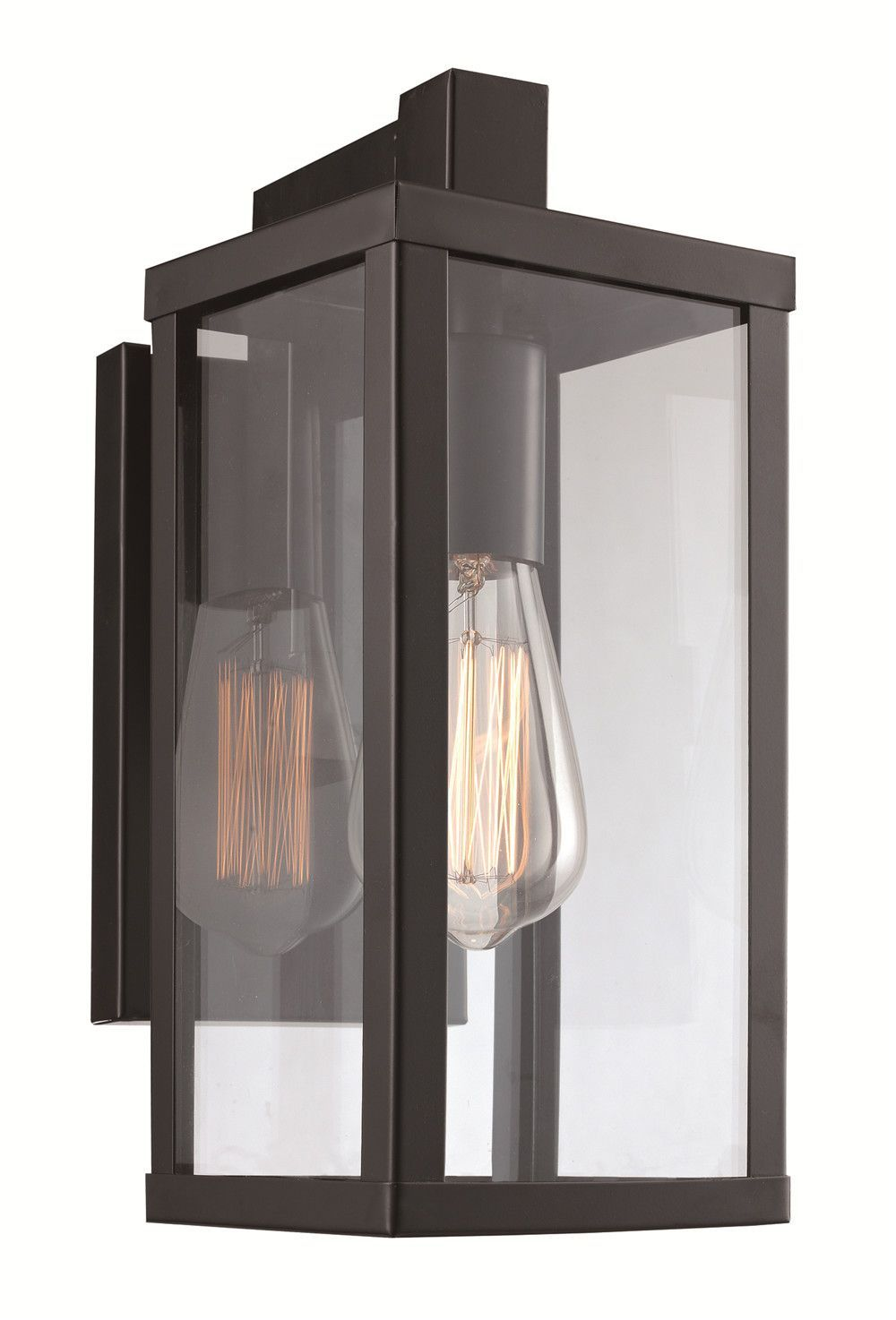 Features Black Finish Fixture Uses 1 Light Medium Base