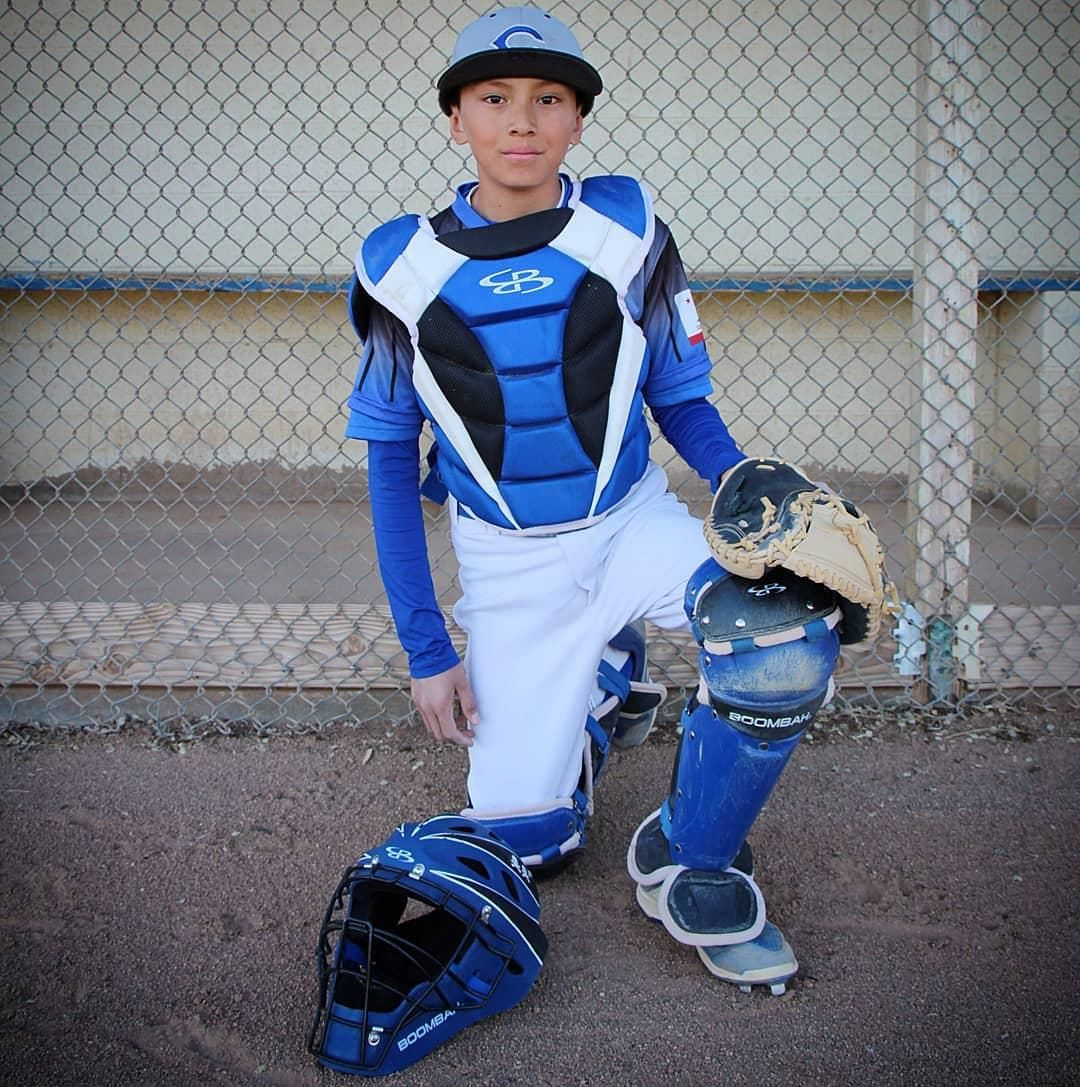 Check Out This Customerphoto Featuring Defcon Catcher S Gear Post Your Photos In Boombah Gear And Mentio Basketball Girls Girls Softball Softball Hairstyles
