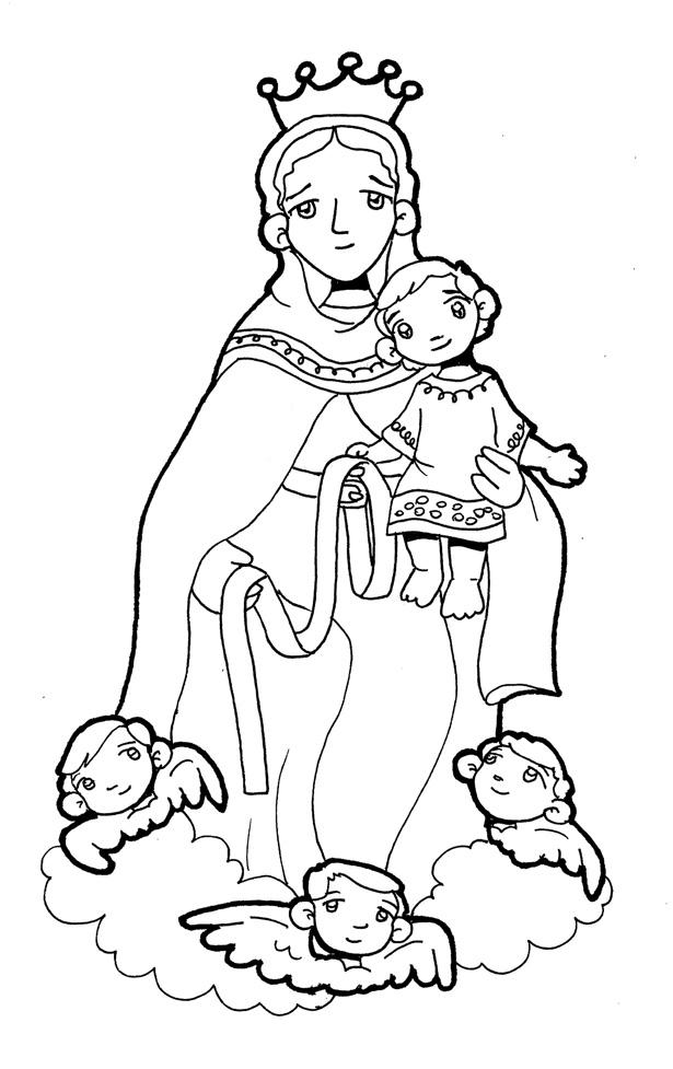 Coleccion De Gifs Imagenes De La Virgen Maria Para Colorear En 2020 Imagenes De La Virgen Virgen Virgen Maria