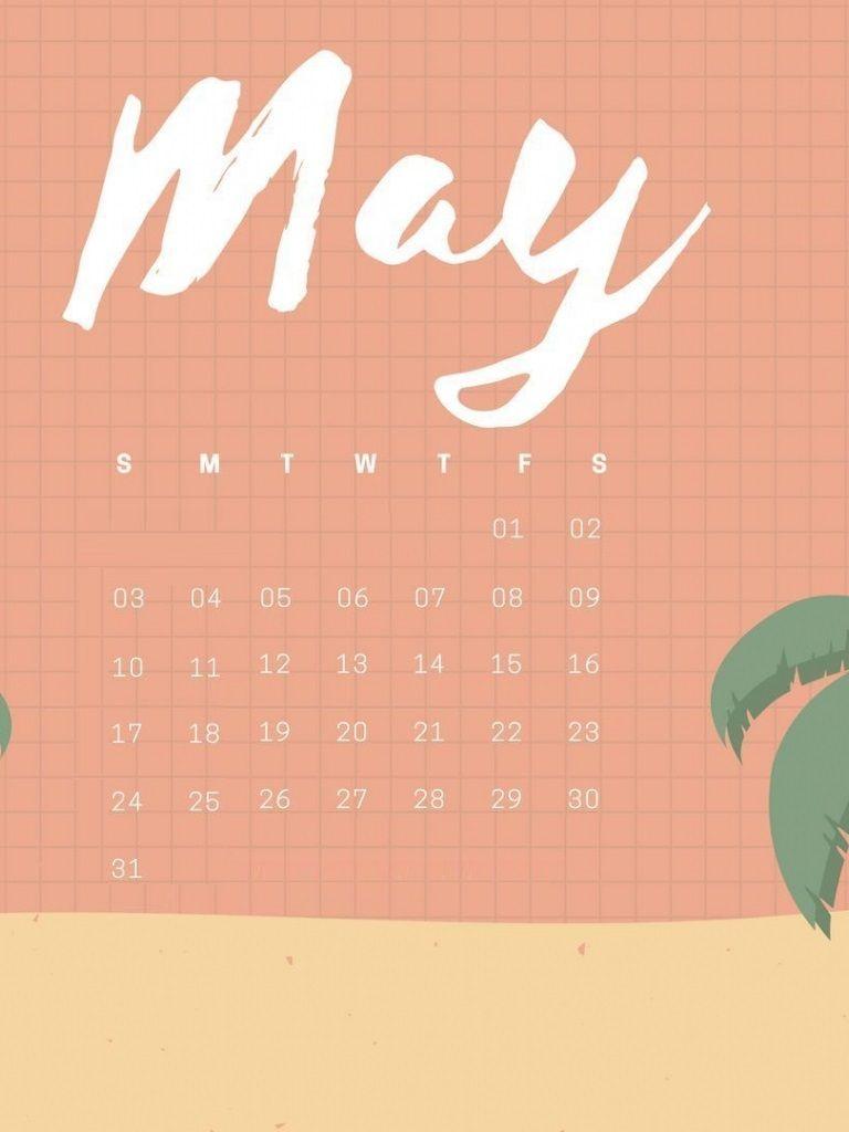 May 2020 Desktop Calendar Wallpaper in 2020   Calendar ...