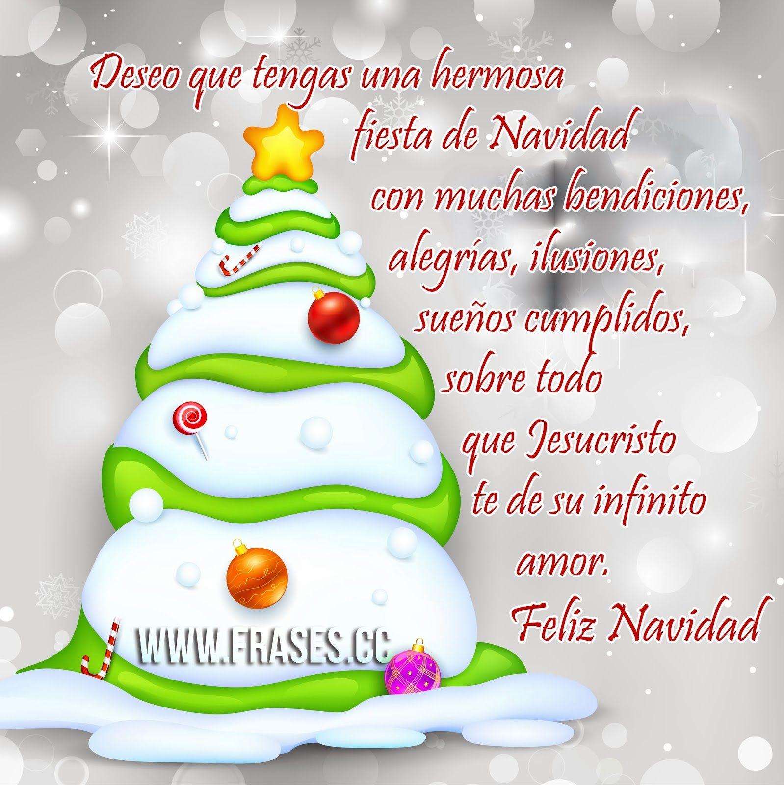 Imagenes de feliz navidad con frases christmas - Feliz navidad frases ...