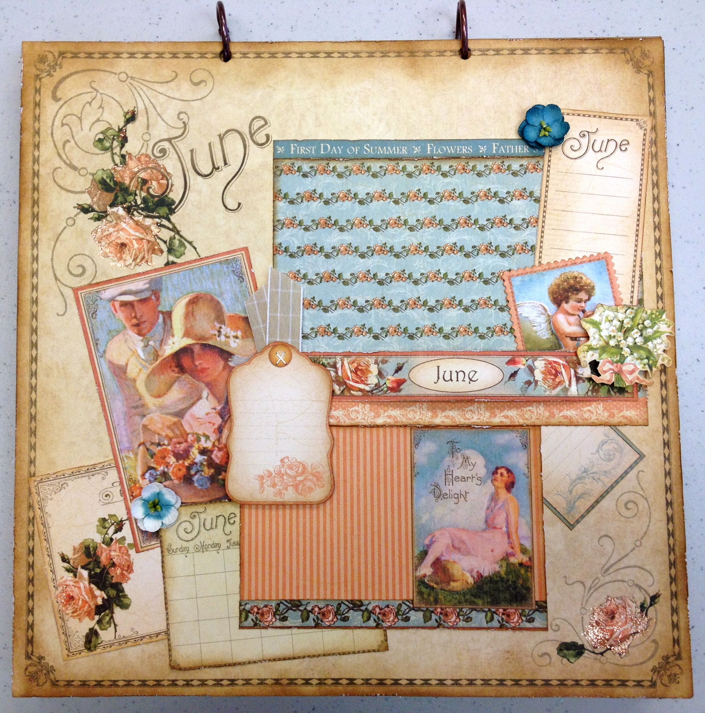Place In Time June Layout - Scrapbook.com