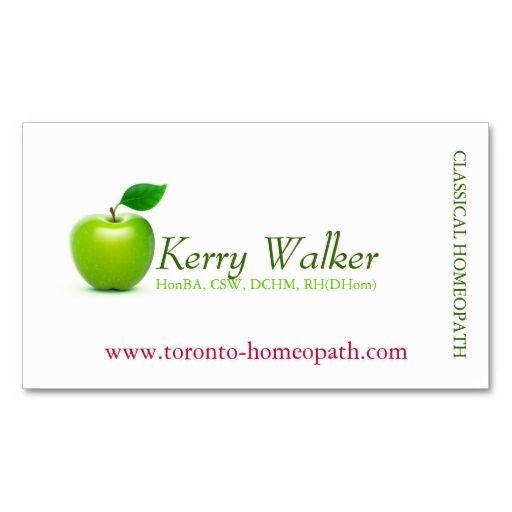 Green apple business card business cards card templates and template green apple business card accmission Images