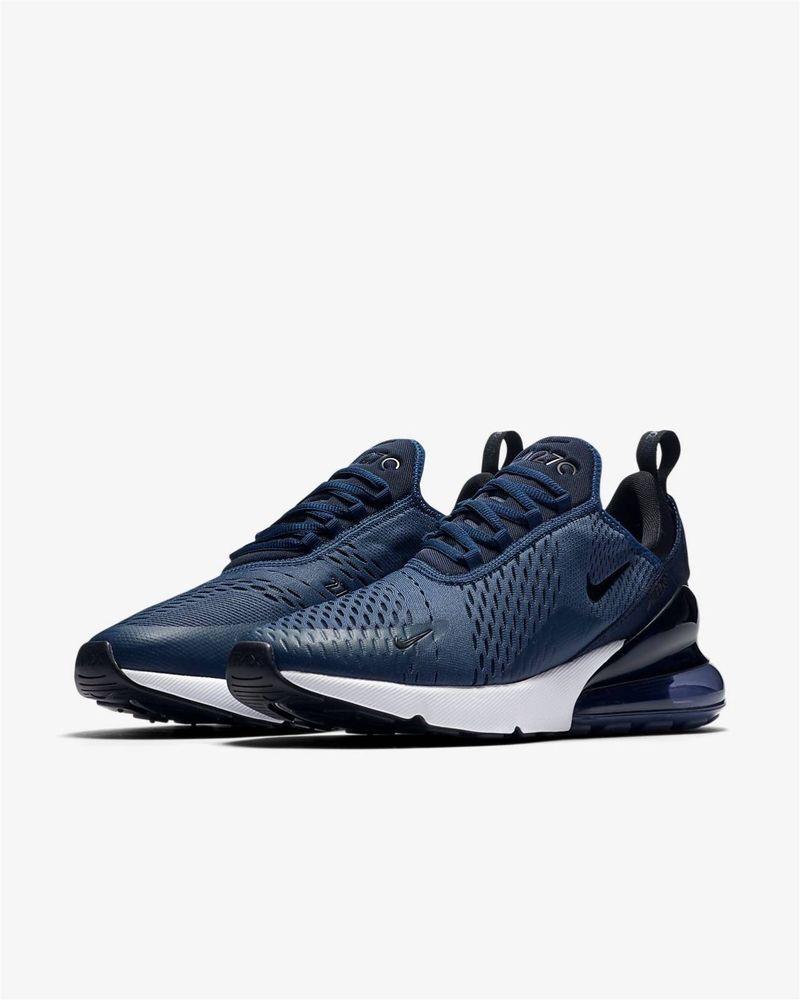 Nike Air Max 270 Navy Blue White Black AH8050-400 sizes 8-15  Nike   AthleticSneakers cf2095bcff