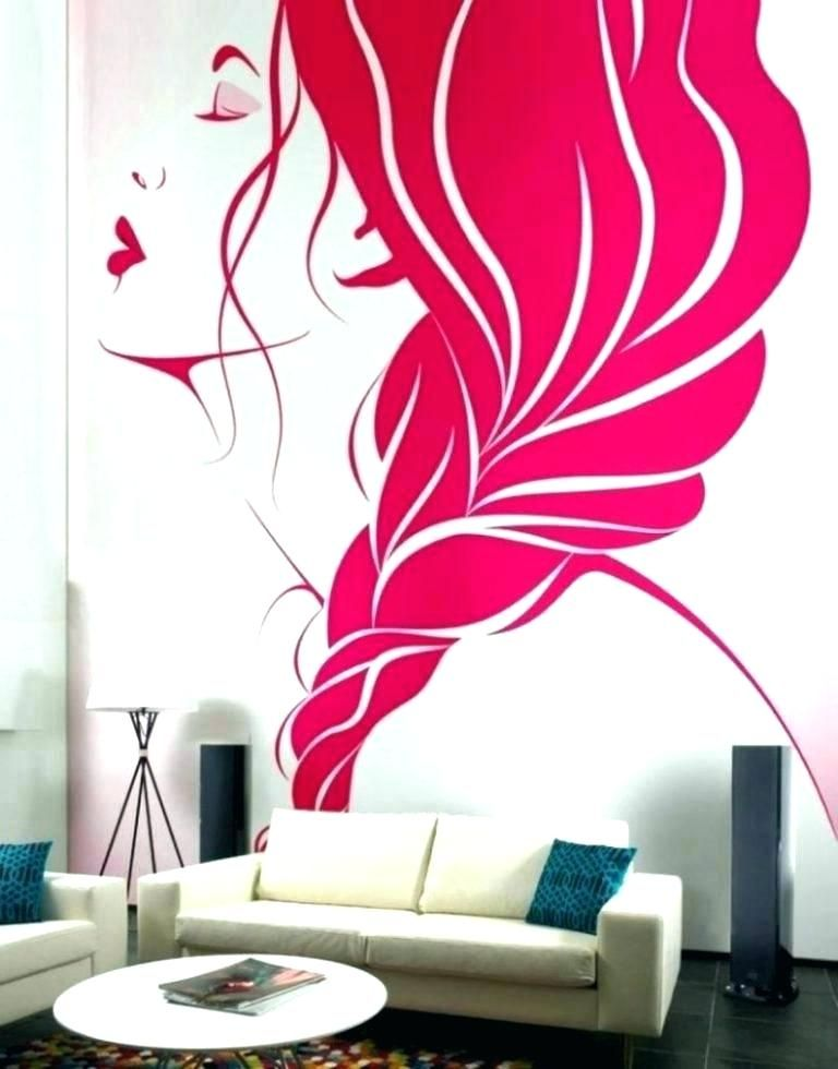 Ideas To Paint Easy Fancy Cool Wall Painting Ideas Creative Wall Painting Ideas Wall Painting Awing Wall Easy Cr Kreative Wandmalerei Wandbilder Rosa Wandfarbe