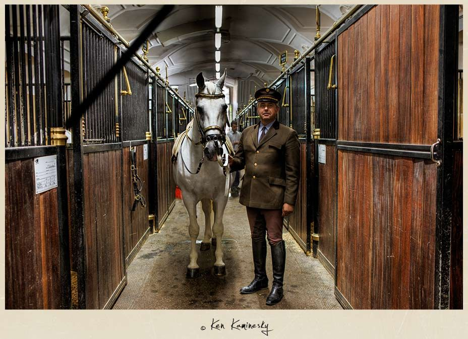 The Stables at the Spanish Riding School in Vienna, the first time I saw the Lipizzaner Stallions was with my dad, in 1969.