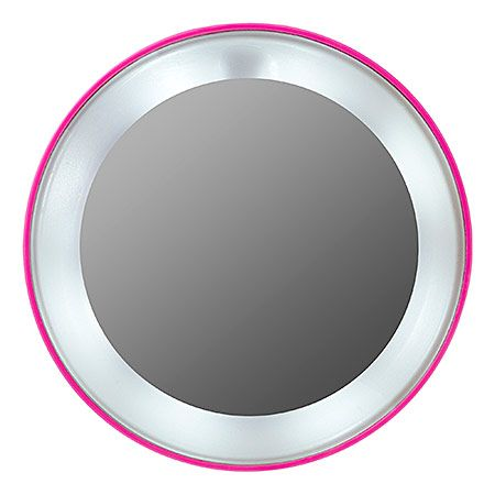 Pink Perfection 15x Lighted Magnifying Mirror - Tweezerman | Sephora